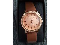 Sekonda Editions Ladies' Rose Plated Swarovski Element Watch