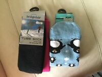 2 pairs of ski socks size 12 to 3