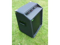 Rare Trace Elliot TAB100 1x15 acoustic bass combo. Amp, amplifier, speaker, cab, cabinet.