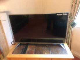 TV 49' SHARP Full HD 4K New Harmann kardon Sound