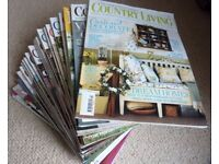 Magazine Collection - Country Homes, Country Living and more