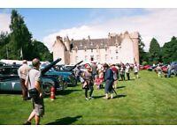 Jaguar Classic Show at Drum Castle