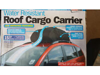 Water Resistant Car Roof Cargo Carrier. Like a Car Roof Bag. As New, in Box, Never Used £22 ono