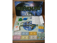Rare (Millenniumopoly) monopoly type board game. Produced in 2001.