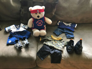 Sporty build a bear