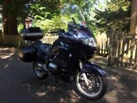 2002 BMW R1150 RT Touring Motorcycle - New MOT