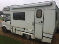1992 Talbot Express Motorhome with 200w solar panels