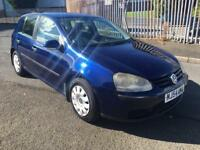Volkswagen Golf 1.6fsi 5door £1295
