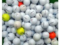 golf balls quantity of 75 for £10 mixed brands in good to fair condition