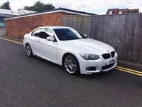 2010 BMW 3 Series 2.0 320d M Sport Coupe 2dr 60 REG WHITE F.S.H 118K