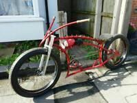 Chopper bike cruiser custom