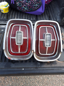 67 Ford Galaxie tail lights I am in Miramichi New Brunswick