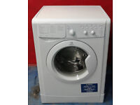 X648 white indesit 6kg 1200spin A rated washing machine comes with warranty can be delivered