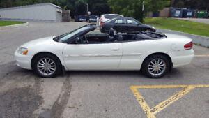 2002 Chrysler Sebring Limited Convertible V6 2995.00