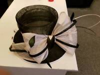 Debenhams hat with large bow brand new with tags