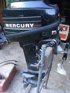 LANAUDIERE Moteur hors bord Mercury (modifié 15 HP)