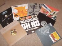 """100 x 12"""" Drum n Bass / Jungle / Breakbeat / Electro Collection 90's- 2000's"""