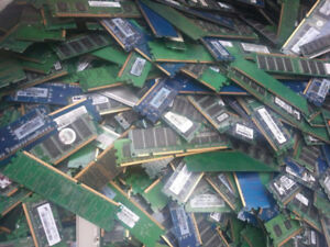 WE BUY AND SELL SCRAP RAMS ELECTRONIC RECYCLE