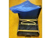 Vintage Antler suitcase wardrobe.