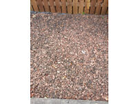 1 Ton of Red Garden Chips