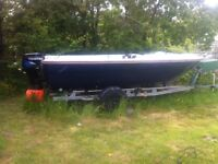 Morebas 17ft Fast Fishing boat