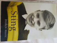 "Sting Book ""Broken Music"""