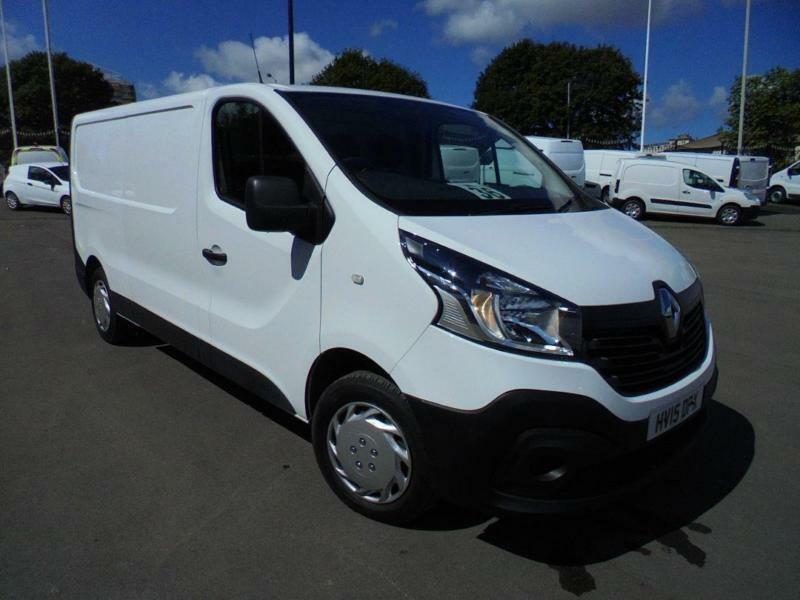 Renault Trafic Ll29 1.6 dci LWB 115ps Business Van DIESEL MANUAL WHITE (2015)