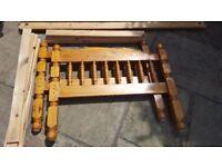 OAK WOOD Single x2 Bed