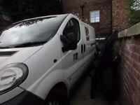 cheap loads of work please read vivaro lwb van