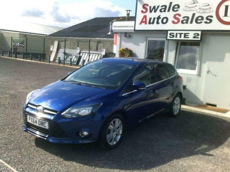 2014 FORD FOCUS TITANIUM NAVIGATOR 1L ONLY 28,507 MILES, FULL SERVICE HISTORY
