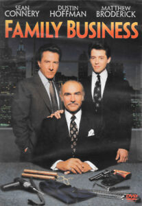 BRAND NEW AND UNOPENED FAMILY BUSINESS DVD - SEAN CONNERY
