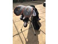 Wilson golf irons and bag with Nike 60 degree wedge