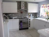 Full Kitchen incl units, worktops, sink, dishwasher, cooking range and hood