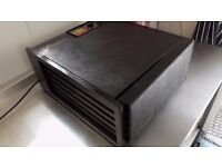 EXCALIBUR 5 TRAY DEHYDRATOR WITH TIMER BLACK