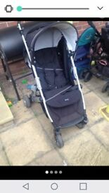 Britax b pushchair w raincover