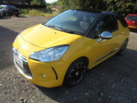Citroen DS3 1.6HDI 16V DSTYLE 90HP CAT C (yellow) 2012