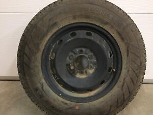 235/75/17       Ford f-150 spare tire and rim