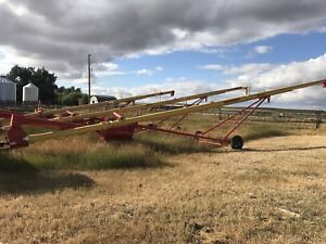 "2 - 10"" Westfield auger's for sale , 14' & 09'"