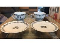 His Lordship & Her Ladyship Large Cup & Saucer