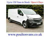 2014 (64) VAUXHALL VIVARO 2900 L2H1 LWB LOW ROOF PANEL VAN, 115bhp, Medium