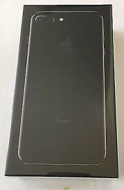 Iphone 7 plus 128GB Jet Black Brand new sealed