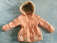 Girls coat for 4-5 years old.