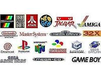 Wanted Video Games Consoles With Games