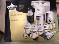 Tommee Tippee Closer to Nature Complete Starter kit baby. Feeding set