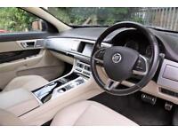 2012 Jaguar XF 3.0 TD V6 S Portfolio 4dr Diesel black Automatic