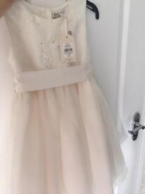 Ivory Flower girl/ occasion dress