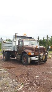 1991 International Plow Truck For Parts or Repair