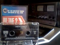 VARIOUS - DRIVE TIME 2 PRERECORDED CASSETTE TAPE DINMC99 was a 2x cassette set but only 1 available.