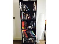"""5""""10 bookshelf with 5 shelves"""