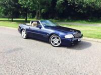 Mercedes-Benz SL 500 Metallic Blue Convertible/Soft Top/Hard Top
